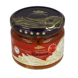 Brētliņas apceptas tomātu mērcē Amberfish 280g Stikls